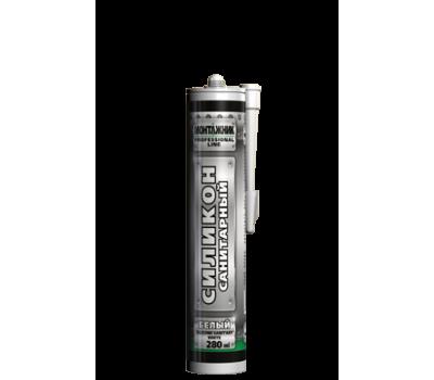 Герметик силиконовый Монтажник санитарный 280 мл (белый)
