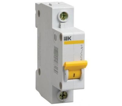 Автоматический выключатель однополюсный IEK типа С 25 А (4.5 кА)