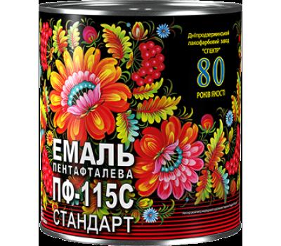 Эмаль Спектр ПФ-115С Стандарт салатный 0.35 кг