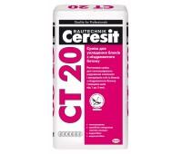 Клей для укладки блоков из ячеистого бетона Ceresit CT20 25 кг