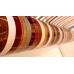Кромка ПВХ KMG 22 x 0.6 мм (15.07 Дуб Лугано Темный)