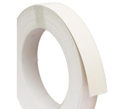 Кромка ПВХ KMG 22 x 0.6 мм (501.01 Білий кірка)