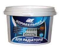 Емаль акрилова для радіаторів Корабельна білий 0.9 кг