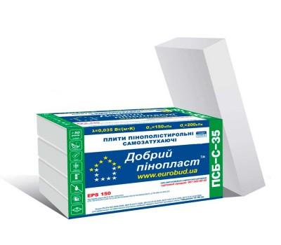 Пінопласт Eurobud Добрий-35 50 мм (1 x 0,5 м)