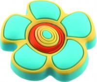 Ручка-кнопка меблева Floare albastra 25 x 41 (Блакитний)