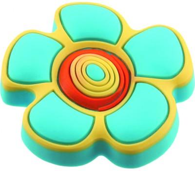 Ручка-кнопка мебельная Floare albastra 25 x 41 (Голубой)