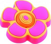 Ручка-кнопка меблева Floare roz 25 x 41 (Рожевий)