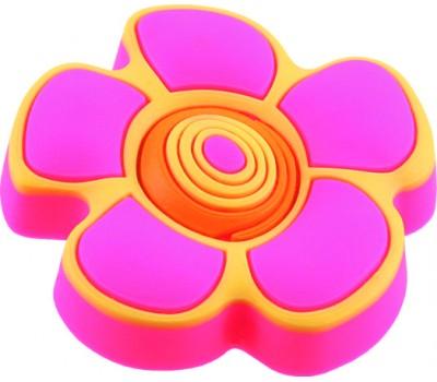 Ручка-кнопка мебельная Floare roz 25 x 41 (Розовый)