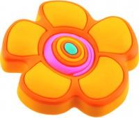 Ручка-кнопка меблева Floare galbena 25 x 41 (Помаранчевий)