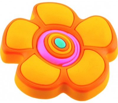 Ручка-кнопка мебельная Floare galbena 25 x 41 (Оранжевый)
