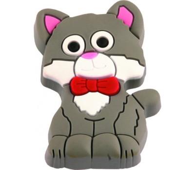 Ручка-кнопка мебельная Pisica gri 25 x 45 (Серый)