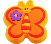 Ручка-кнопка меблева Fluture galben 21 x 41 x 42 (Помаранчевий)