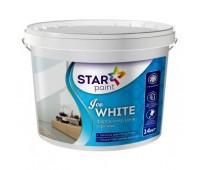 Краска интерьерная Star Paint Ice White (14 кг)