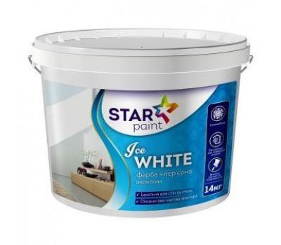 Краска Star Paint Ice White интерьерная 14 кг