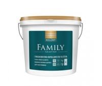 Фарба Kolorit Family A інтер'єрна латексна 9 л