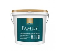 Краска Kolorit Family A интерьерная латексная 9 л
