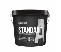 Краска Kolorit Standart A LC фасадная латексная 9 л