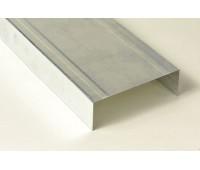 Профиль для гипсокартона Knauf UW 75/40 мм 0.6 мм 3 м