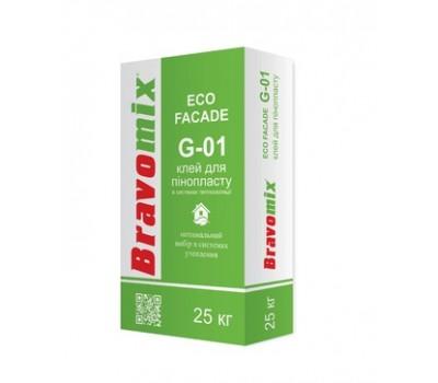 Клей для пенополистирола Bravomix G-01 25 кг
