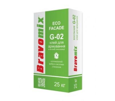 Клей для теплоізоляційних плит Bravomix G-02 25 кг