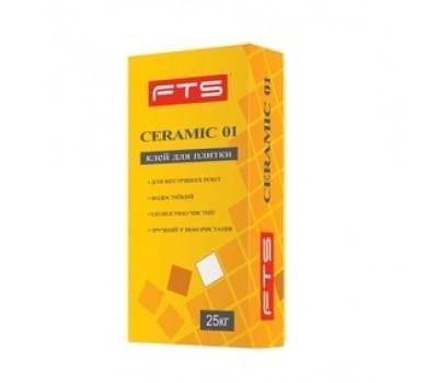 Клей для плитки FTS Ceramic-01 25 кг