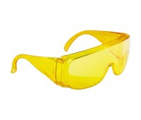 Окуляри захисні відкритого типу Сібртех (жовті)