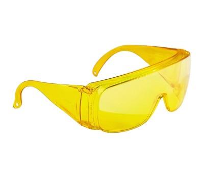 Очки защитные открытого типа Сибртех (желтые)