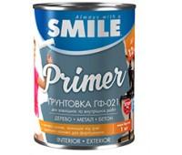 Грунтовка Smile ГФ-021 серая (2.8 кг)