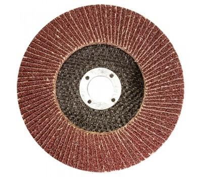 Круг лепестковый Matrix торцевой 125 х 22,2 мм (P 100)