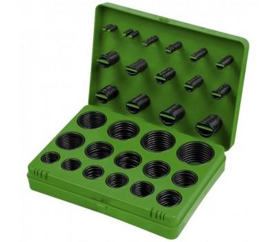 Набор резиновых уплотнительных прокладок Сибртех 7 - 53 мм (404 предмета)