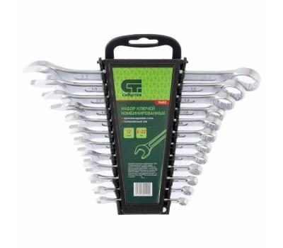 Набір ключів комбінованих Сібртех 6 - 22 мм (12 шт)
