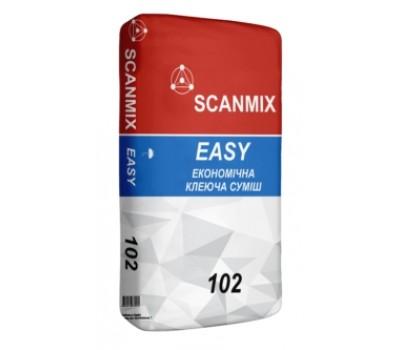 Клей для плитки Scanmix Easy 102 25 кг