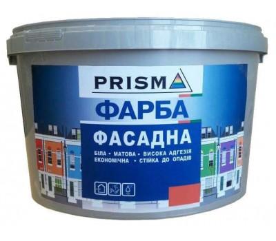 Краска Prisma фасадная белый 7 кг