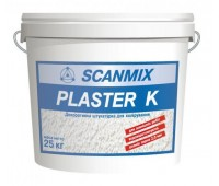 Штукатурка декоративна Scanmix Plaster K з зерном 2 мм