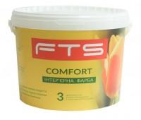 Краска FTS Comfort 3 інтер'єрна аклилова 9 л