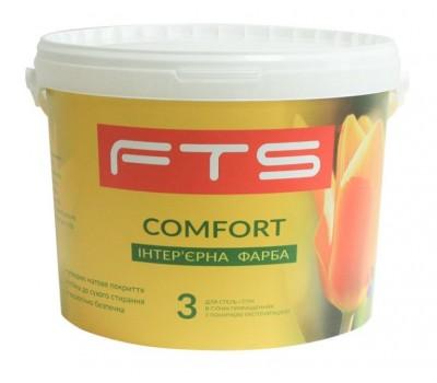 Краска FTS Comfort 3 интерьерная аклиловая 9 л