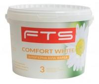 Краска FTS Comfort White 3 интерьерная аклиловая 9 л