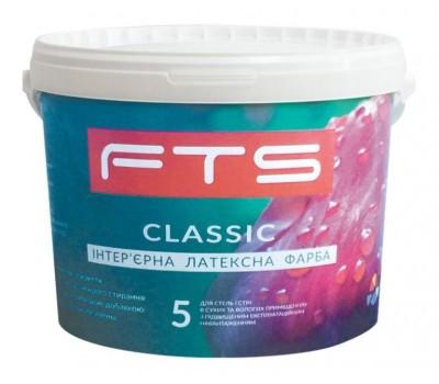 Фарба FTS Classic 5 інтер'єрна латексна 10 л