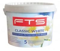 Краска FTS Classic White 5 интерьерная латексная 10 л