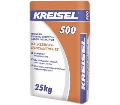 Машинная штукатурка Kreisel 500 гладкая 25 кг