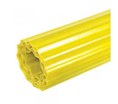Шифер прозрачный Волнопласт гофрированный 1,5 x 10 м (светло-желтый)