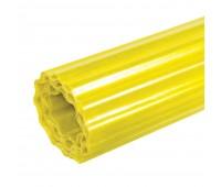 Шифер прозрачный Волнопласт гофрированный 1,5 x 20 м (светло-желтый)