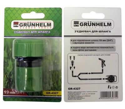 З'єднання для шлангу Grunhelm GR-4327 3/4