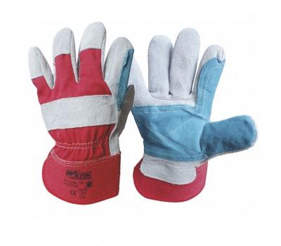 Перчатки Werk WE2130 комбинированные кожа + ткань