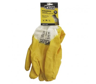 Перчатки Werk WE2132 жёлтые