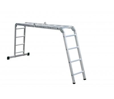 Лестница шарнирная Forte АО52-404