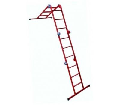 Шарнирная лестница Метал 4х4