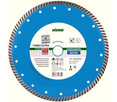 Круг алмазный Distar Turbo Extra для сухой резки ср. арм. бетона