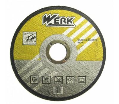 Круг відрізний Werk по металу 125x1.6x22.23 мм (WE201106)