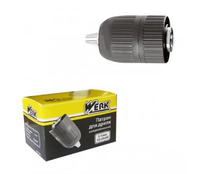 Патрон для дриля швидкозажимний Werk 1/2''-20UNF 2.0-13 мм (WE110011)